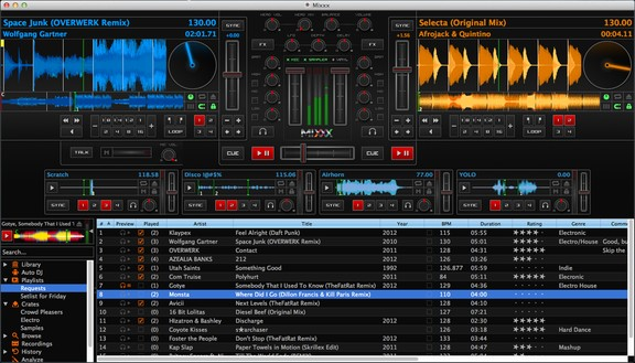 Mixxx v1.11