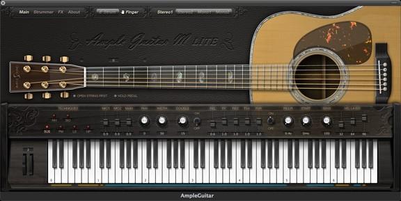 Ample Sound Ample Guitar M Lite
