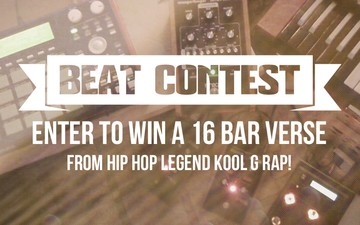 Drum Broker Kool G Rap Beat Contest