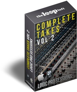 The Loop Loft Logic Pro Drum Sessions Vol 2