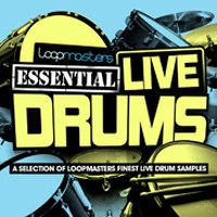 Loopmasters Essential Live Drums