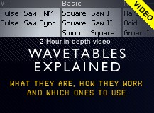 MassiveSynth Wavetables Explained