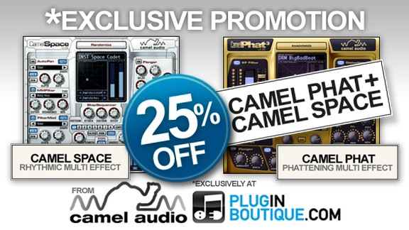 CamelPhat &amp; CamelSpace 25% off