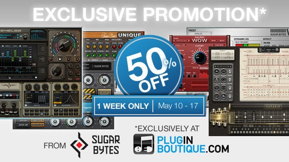 Sugar Bytes at Plugin Boutique
