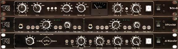 TK Audio BC1-S, DP1mk3 & S-Blender