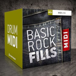 Toontrack Basic Rock Fills MIDI