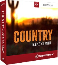 Toontrack EZkeys Country MIDI