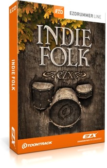 Toontrack Indie Folk EZX