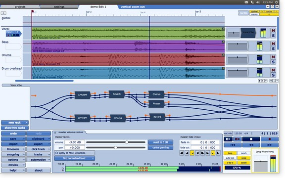 Tracktion 4 in Linux