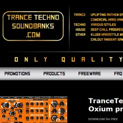 Trance Techno Soundbanks Oxium Promopack