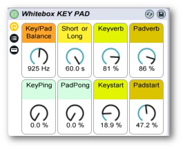Whitebox Key Pad