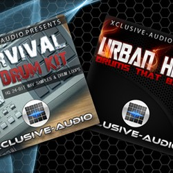 Xclusive-Audio Drum Bundle Duo