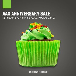 AAS 15th Anniversary Sale