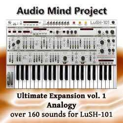 Audio Mind Project Analogy for LuSH-101
