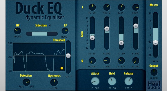 HeelAudio Duck EQ