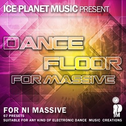 Ice Planet Music Dance Floor for Massive