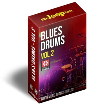 Loop Loft Blues Drums Vol 2 ReFill