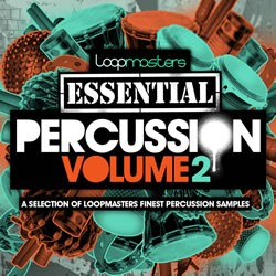 Loopmasters Essential Percussion Vol 2