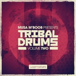 Loopmasters Musa M'Boob Tribal Drums Vol 2