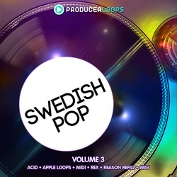 Producer Loops Swedish Pop Vol 3