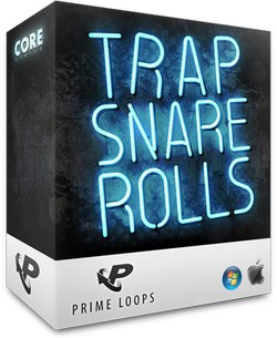 Prime Loops Trap Snare Rolls