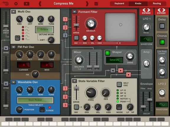 Propellerhead Thor for iPad