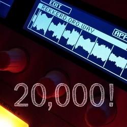20,000 posts!
