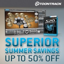 Toontrack Superior Summer Savings