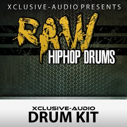 Xclusive Audio Raw Hiphop Drums