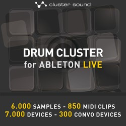 Cluster Sound Drum Cluster for LIVE