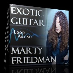 Marty Friedman Exotic Guitar