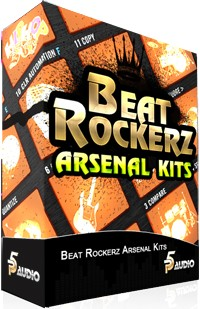 P5Audio Beat Rockerz Arsenal Kits for Maschine