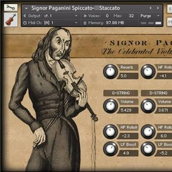 Simple Sam Samples Signor Paganini Solo Violin