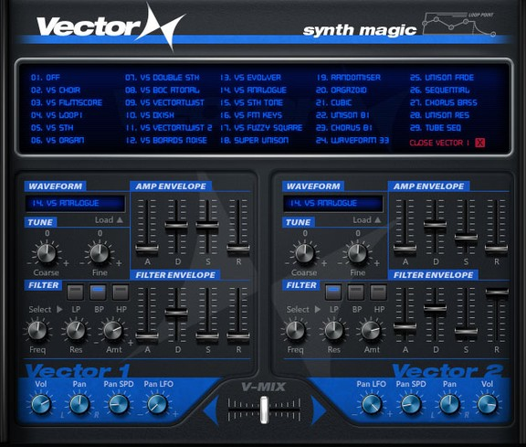 Synth Magic Vector X