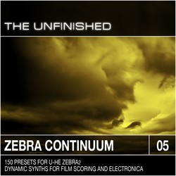 The Unfinished Zebra Continuum