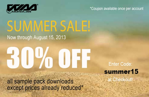 WaaSoundLab Summer Sale