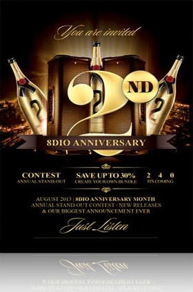 8Dio 2nd Anniversary Sale