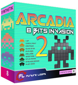 Future Loops Arcadia 8 Bits Invasion 2