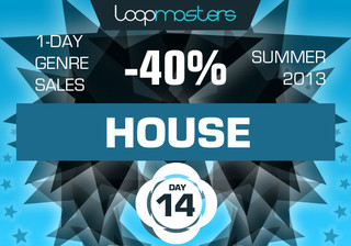 40% off Loopmasters House packs