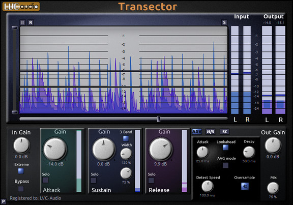 LVC-Audio Transector