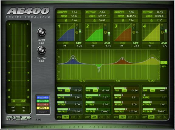 McDSP AE400 Active EQ