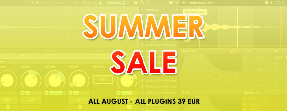 New Sonic Arts Summer Sale