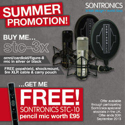 Sontronics Summer Promotion