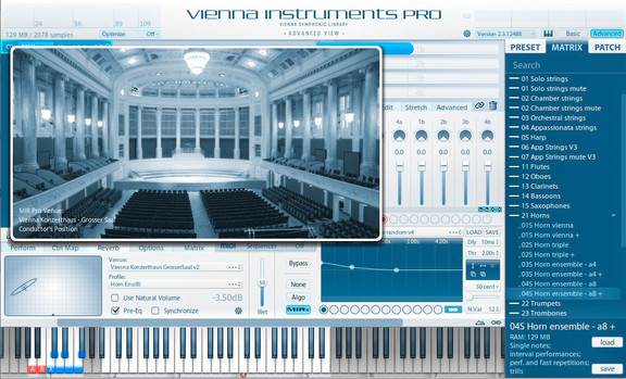 VSL MIRx onzerthaus Mozartsaal