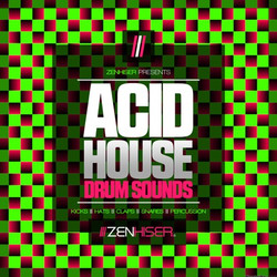 Zenhiser Acid House Drum Sounds
