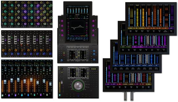 Avid S6 modular design