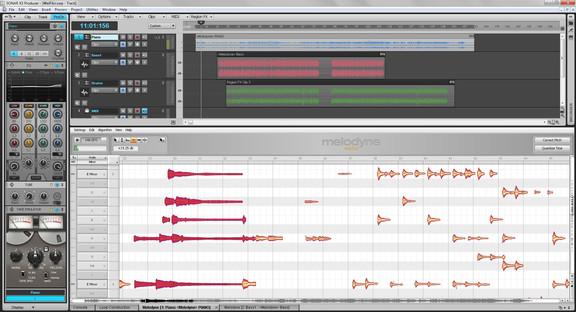 Celemony Melodyne essential in Sonar X3