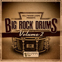 Hollywood Loops Big Rock Drums Vol 2
