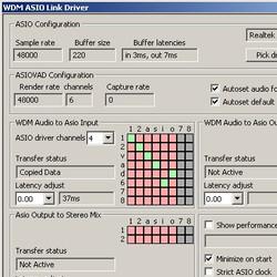 John Shield WDM ASIO Link Driver