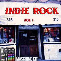 The Loop Loft Indie Rock Drums for Maschine